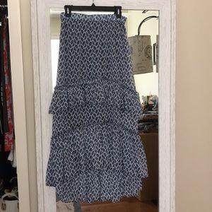 H&M high low skirt.